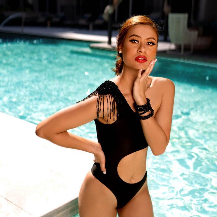 Carmen Beaded Monokini